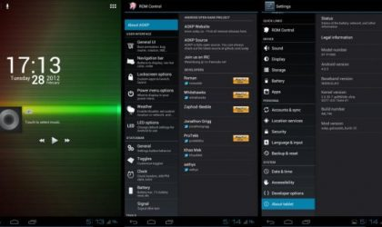 Update Galaxy Tab 7″ to Ice Cream Sandwich Unofficially with AOKP Custom ROM