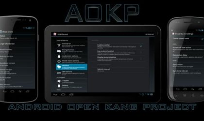 Install Build 27 of AOKP ICS ROM on Samsung Captivate