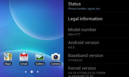 UCLC2 — Update AT&T Galaxy S2 to Ice Cream Sandwich (ICS) with Leaked Samsung Firmware