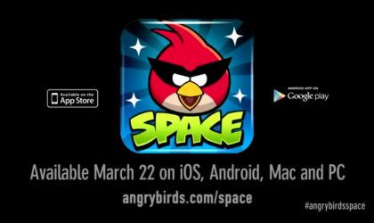 Watch the Angry Birds Space Video