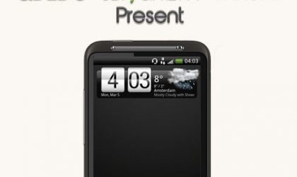 Update Desire HD to Ice Cream Sandwich with Blackout ICS XL