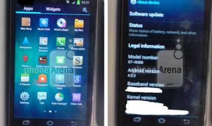 Samsung GT-I9300 Images Leaked — Probably Not the Galaxy S3