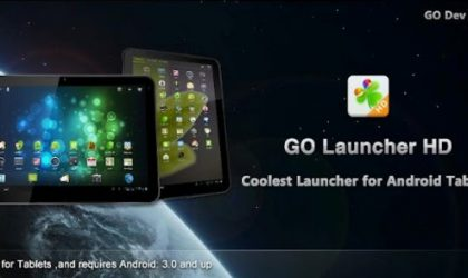 Go Launcher HD for Android Tablets