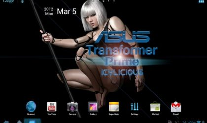 Icylicious ROM Launched on Transformer Prime [Android 4.0]