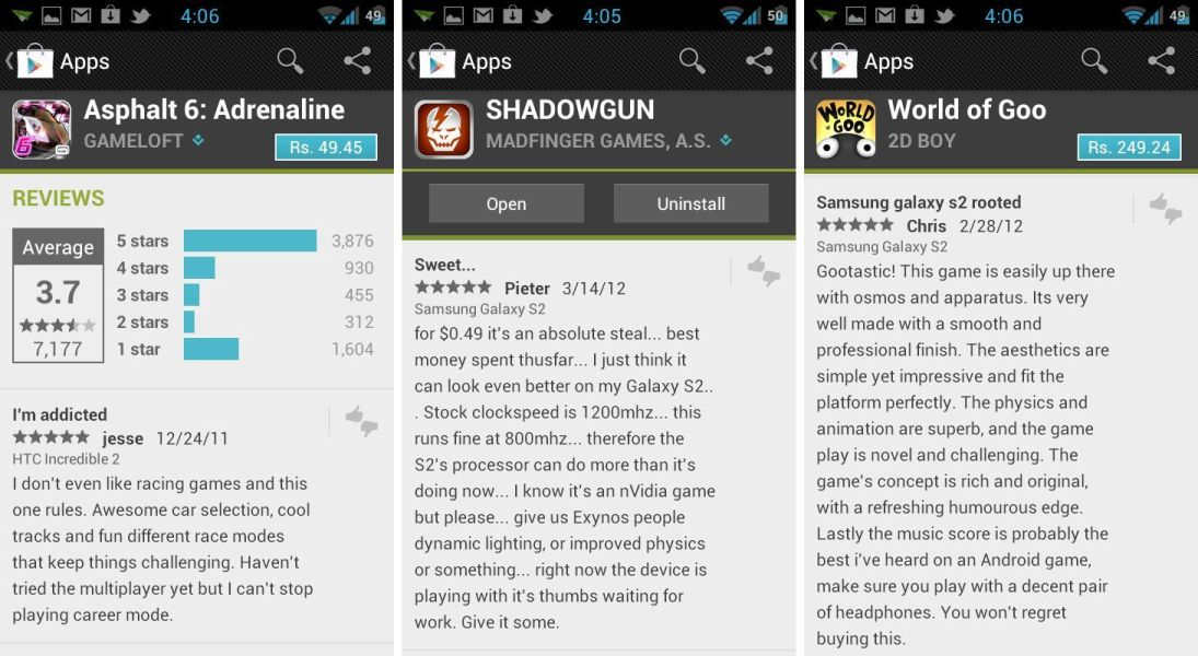 play store apk the android soul