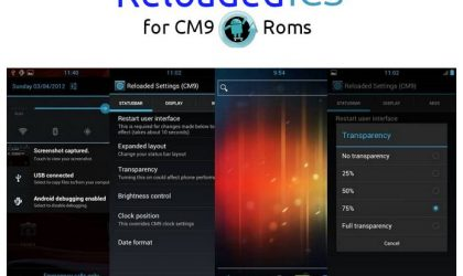 Reloaded ICS Tool for CM9 is Pretty Cool!