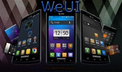 WeUI for Galaxy S i9000 Brings You MIUI 4 Again With New Style