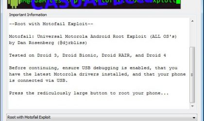 Root Droid Razr on Ice Cream Sandwich and Gingerbread with CASUAL Root Tool