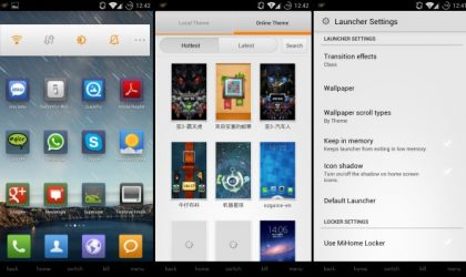 MIUI Launcher for Android 4.0 Ice Cream Sandwich Devices