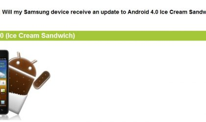 Samsung Releases Android 4.0 Roadmap for Devices on US Carriers