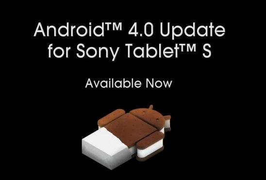 Sony tablet ics 4.0 güncellemesi çıktı.
