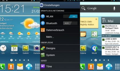 Galaxy S3 Add-on Pack for Galaxy S i9000 and Galaxy S2 i9100