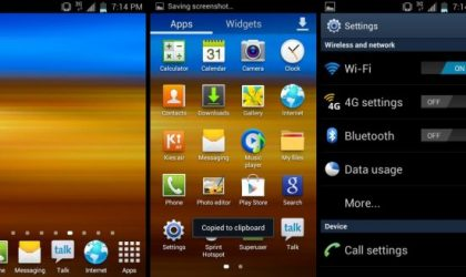 Galaxy S3 Themed ICS ROM for Epic 4G Touch, Based on FE22