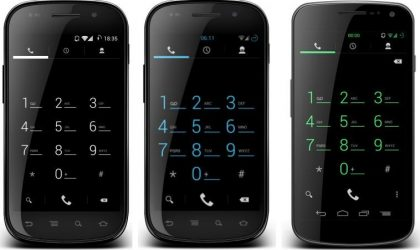 Infinitum Themes for AOKP and CM9 ROMs: Black, Blue and Green