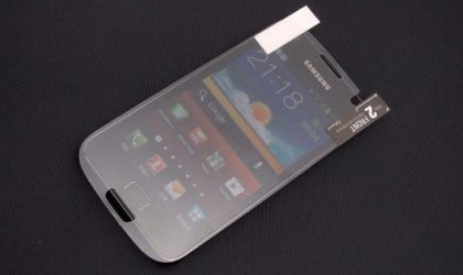 Screen Protector Gives Away Galaxy S3 Shape and Display Size, Compared with Galaxy S2
