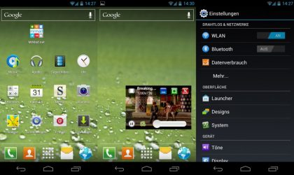Galaxy S3 TouchwizUX for Galaxy Nexus — No Escape From Galaxy S3 Goodies