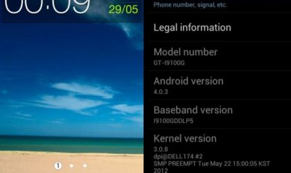 i9100GXXLPQ — Ice Cream Sandwich Update for i9100G Galaxy S2 Finally Arrives. Flash With Odin Now!
