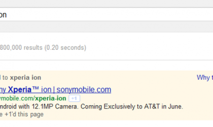Xperia Ion Release Date: Probably in June!