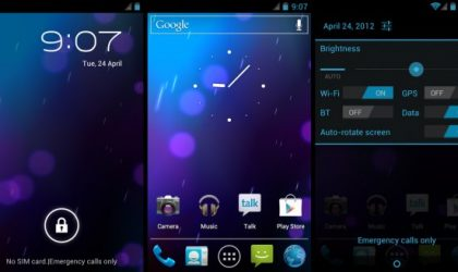 F1 GalaxyNexus AOSP Android 4.0.4 ROM Available on AT&T Galaxy S2 SGH-i777
