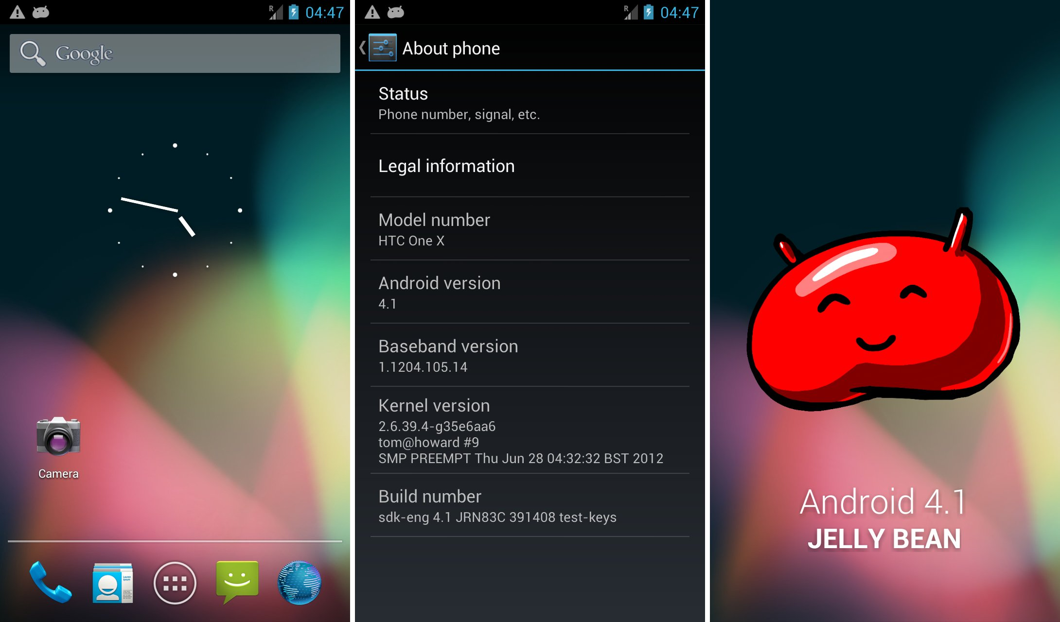 Install Android 4.1 Jelly Bean on HTC One X [SDK Port ...