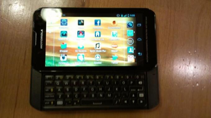 Motorola QWERTY Slider Phone for Sprint