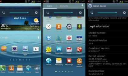 New Galaxy S3 Custom ROM: RomAur Launched. Brings Bravia Engine Along