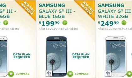 Pre-order US Cellular Galaxy S3 Now. It's Available!