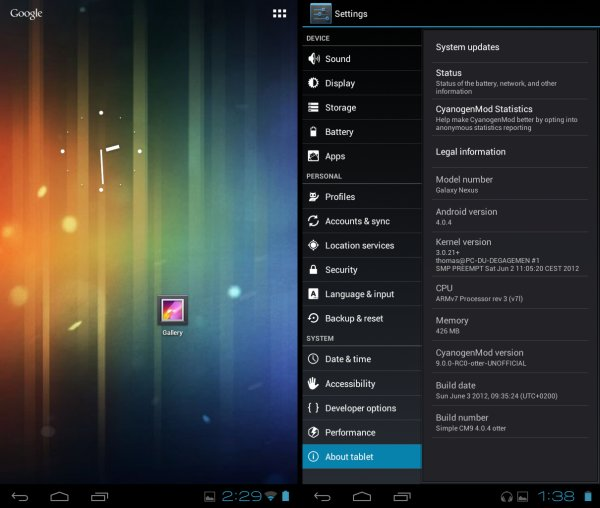 Try the Simple CM9 Custom ROM on Your Kindle Fire!
