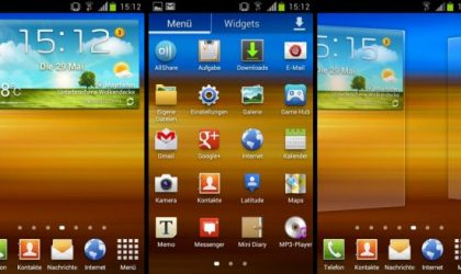 TouchWiz 5 for Galaxy Note N7000