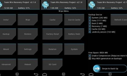 TWRP Recovery for Galaxy S Plus i9001