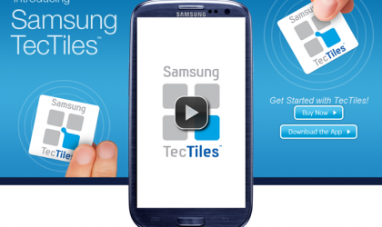 Samsung Announces TecTiles NFC Tags, Should Bring More NFC Things to Masses Soon