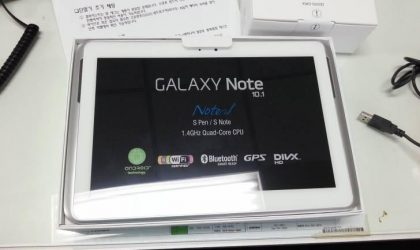 Leaked Galaxy Note 10.1 Specs Reveal 2GB RAM and 1.4 GHz Quad-Core Processor!