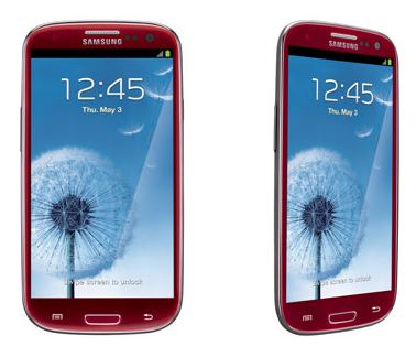 UK gets Red Galaxy S3, too