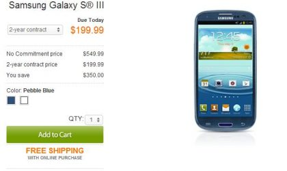 AT&T Galaxy S3 Launched, Available in Stores