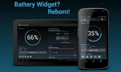 The Best Battery Widget for Android ─ 'Battery Widget? Reborn!'
