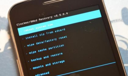 How To Install Touch ClockworkMod (CWM) Recovery on Droid RAZR