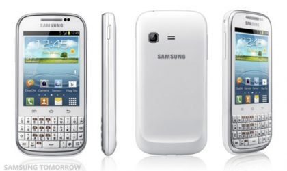 Samsung Officially Announces Android 4.0 QWERTY Phone, Meet the Galaxy Chat