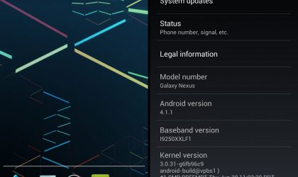 Official Jelly Bean Android 4.1.1 OTA JRO03C for Galaxy Nexus US HSPA+ Variant