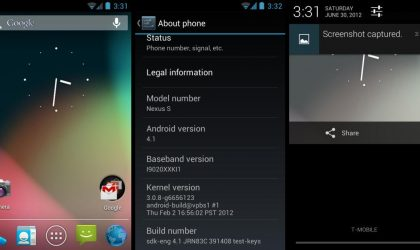 Get Android 4.1 Jelly Bean on Nexus S With This Mostly Working SDK Port