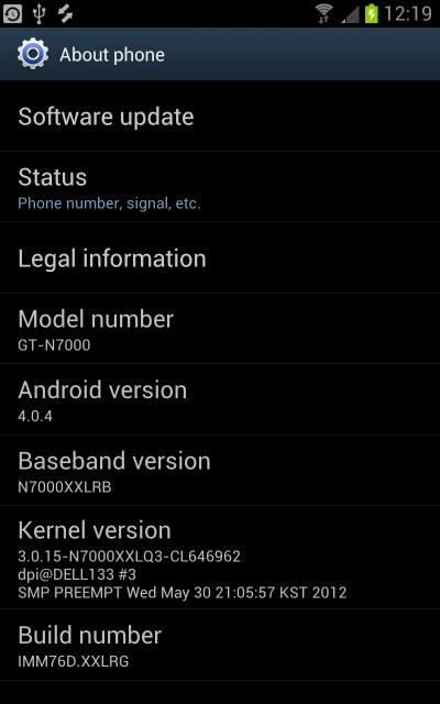 XXLRG – Official Galaxy Note Android 4.0.4 Firmware is Out [Guide]