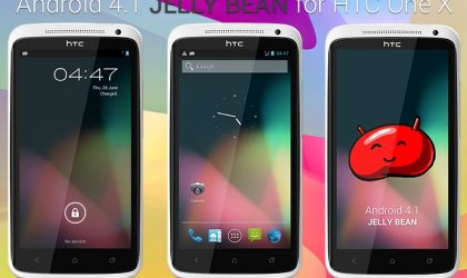Android 4.1 Jelly Bean for HTC One X — Alpha Build Available