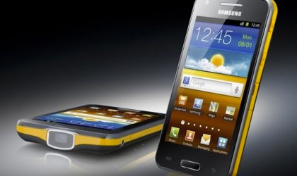 Samsung launches the Galaxy Beam projector phone in UK