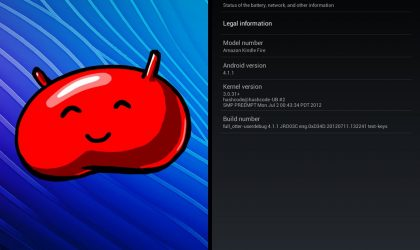 Tablet UI Based Android 4.1 Jelly Bean ROM for Kindle Fire [Guide]