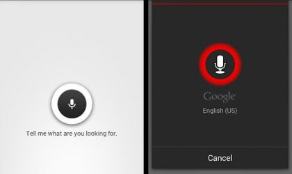 Get Voice Search on Google Now on Android 4.0 Ice Cream Sandwich Devices