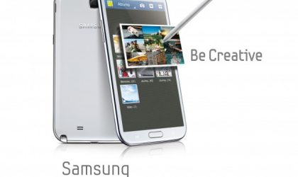 Samsung Unleashes 5.5-inch Galaxy Note II