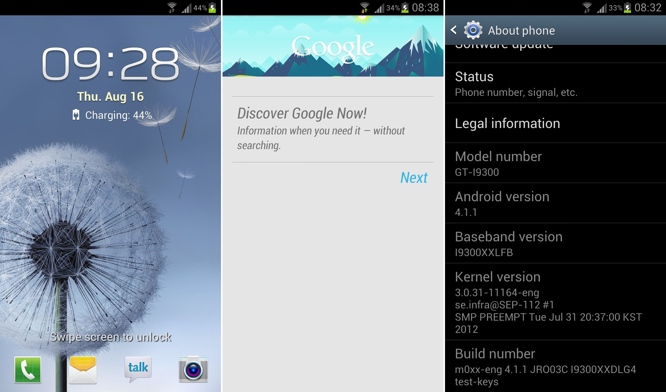 Galaxy S3 Jelly Bean Firmware