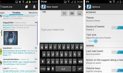New Twitter Android App, TweetLine, is Based on Holo UI. Try It!