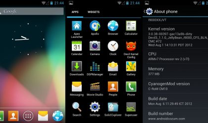 Galaxy S Jelly Bean ROMs Update: Install C-RoM with TW5 Icons, Based on Android 4.1