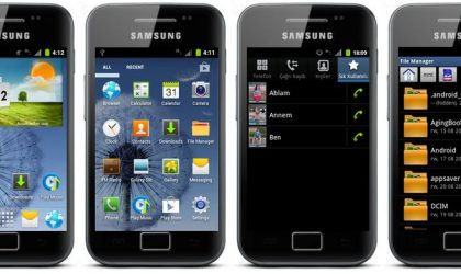 Galaxy Ace CyanogenMod 7.2 ROM With Galaxy S3 TouchWiz 5 Theme [Android 2.3]
