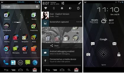 Install Codename Android ROM on myTouch 4G for Android 4.1 Jelly Bean
